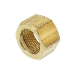 "(61-10) 5/8"" OD Brass Compression Nut (Bag of 5) Product Image"