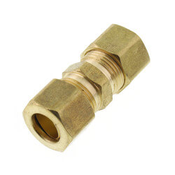 "(62-6) 3/8"" OD Brass Compression Union<br>(Lead Free) Product Image"