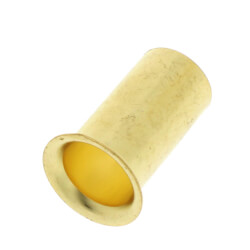 "1/2"" OD Brass Compression Insert - Lead Free (Pack of 10) Product Image"