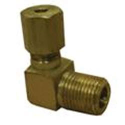 """(69-128) 3/4"""" OD x 1/2"""" MIP Brass Compression Elbow Product Image"""