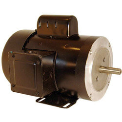 """6-1/2"""" Capacitor Start TEFC Motor (115/208-230V, 1140 RPM, 1/2 HP) Product Image"""