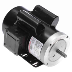 56HC Capacitor Start<br>TEFC Motor (208-230/115V, 1725 RPM, 1-1/2 HP) Product Image