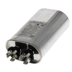 12.5 MFD Oval Run Capacitor (370/440V) Product Image