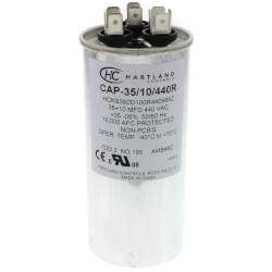 35/10 MFD Round Dual Motor Run Capacitor (370/440V) Product Image
