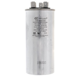 40/5 MFD Round Dual Motor Run Capacitor (370/440V) Product Image