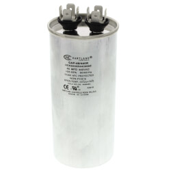 45 MFD Round Run Capacitor (370/440V) Product Image