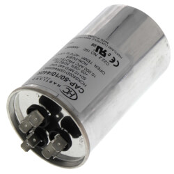 50/10 MFD Round Dual Motor Run Capacitor (370/440V) Product Image