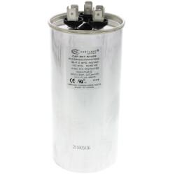 80/7.5 MFD Round Dual Motor Run Capacitor (370/440V) Product Image