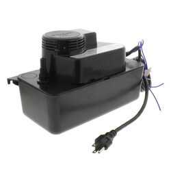 Medium Condensate Pump w/ Safety Switch, 20 Ft Shutoff (1/30 HP, 115V) Product Image