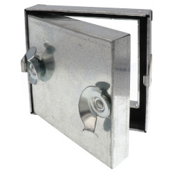 "6"" x 6"" Duct Access Door<br>No Hinge Product Image"