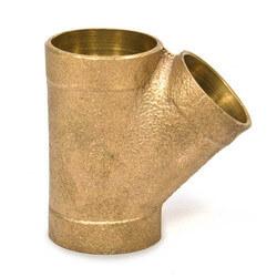 "2"" x 2"" x 1-1/4""<br>Cast Copper DWV Wye Product Image"