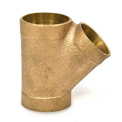 "4"" x 4"" x 3""<br>Cast Copper DWV Wye Product Image"