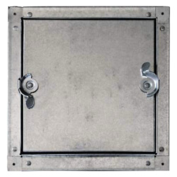 "6"" x 6"" Self Stick Duct Access Door, Non-Hinged Product Image"