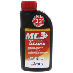 MC3+ Hydronic Heating System Cleaner (16.8 oz) Product Image