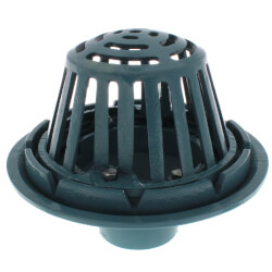 """3"""" No-Hub Roof Drain<br>w/ Gravel Guard Product Image"""