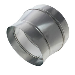 """10"""" to 12"""" Round<br>Metal Duct Reducer Product Image"""
