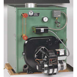 CL3-140 89,000 BTU Output, Cast Iron Steam Boiler w/ Coil (Packaged) Product Image