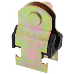 """1/2"""" OD Electro-Galvanized Strut Cushion Clamp Product Image"""
