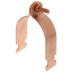 "3"" Copper Epoxy Coated Multi-Strut Pipe Clamp Product Image"