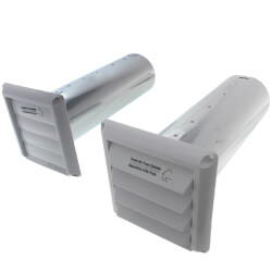 """COM4P Plastic Supply<br>& Exhaust Hood Combo (Pair), 4"""" Duct Product Image"""