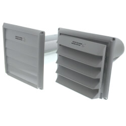 """COM5P Plastic Supply<br>& Exhaust Hood Combo (Pair), 5"""" Duct Product Image"""
