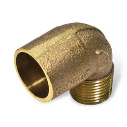 "1/2"" x 3/8"" CxM 90° Elbow Product Image"