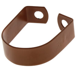 "1-1/2"" Copper Epoxy Coated Band Hanger Product Image"