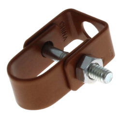"1/2"" Copper Epoxy Coated Clevis Hanger Product Image"