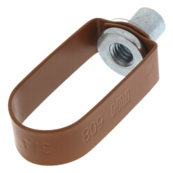 """3/4"""" Copper Epoxy Coated Em-Lok Swivel Ring Product Image"""
