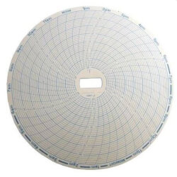 Temperature Recorder Replacement Charts, -20°F to 50°F, 24 Hours (Pack of 60) Product Image