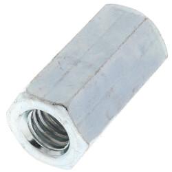 "1/2"" x 3/8"" Zinc Reducing Rod Coupling Product Image"