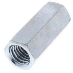 """1/2"""" Zinc Rod Coupling Product Image"""
