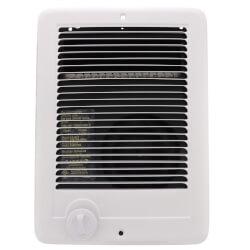 Com-Pak Plus White<br>Wall Fan Heater, 1000/750 Watts (240V/208V) Product Image