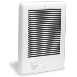 Com-Pak Plus White<br>Wall Fan Heater,<br>1500 Watt (120V) Product Image