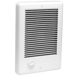 Com-Pak Plus White<br>Wall Fan Heater, 1500/1125 Watt (240/208V) Product Image
