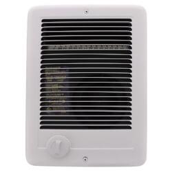 Com-Pak Plus White<br>Wall Fan Heater, 2000/1500 Watt (240/208V) Product Image