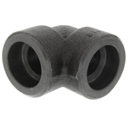 "3/8"" 3000# A105N Carbon Steel Socket Weld 90 Elbow Product Image"