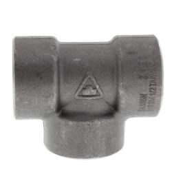 """1/2"""" 3000# A105N Carbon Steel Socket Weld Tee Product Image"""