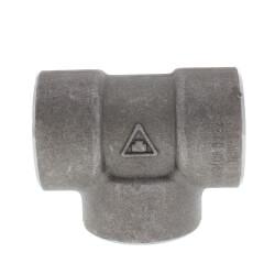"""1"""" 3000# A105N Carbon Steel Socket Weld Tee Product Image"""