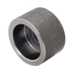 "1"" 3000# A105N Carbon Steel Socket Weld Cap Product Image"