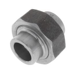 "1/2"" 3000# A105N Carbon Steel Socket Weld Union Product Image"