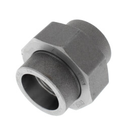 "1"" 3000# A105N Carbon Steel Socket Weld Union Product Image"