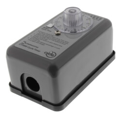 Field Adj. Percentage Cycle Time Switch, 20A, SPST (120-240V) Product Image