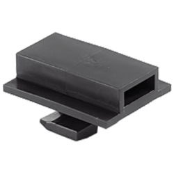"""2-1/2"""" Cable Tie Channel Clips (Box of 10) Product Image"""