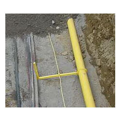 "TracerSpacer for Common Trench Snap-On Separator for 3/4"" IPS or 1"" CTS Product Image"