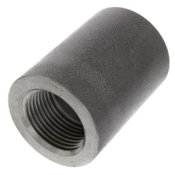 "1/2"" 3000# A105N NPT x Socket Weld Carbon Steel Coupling Product Image"
