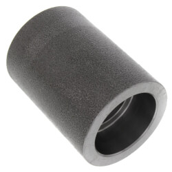 "1"" 3000# A105N NPT x Socket Weld Carbon Steel Coupling Product Image"