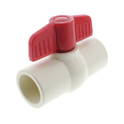 "1"" CPVC Ball Valve (Solvent) Product Image"