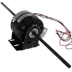 "5"" 3-Spd Dbl Shaft Fan Motor (115V, 1625 RPM, 1//10, 1/12, 1/15 HP) Product Image"