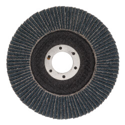 "4-1/2"" Steel Demon Grinding and Polishing Flap Disc w/ 40 Grit, Type 29 Conical Design, NO HUB Product Image"